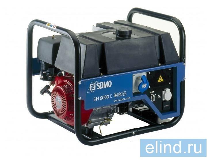 Sdmo Sh 6000 инструкция по эксплуатации - фото 6